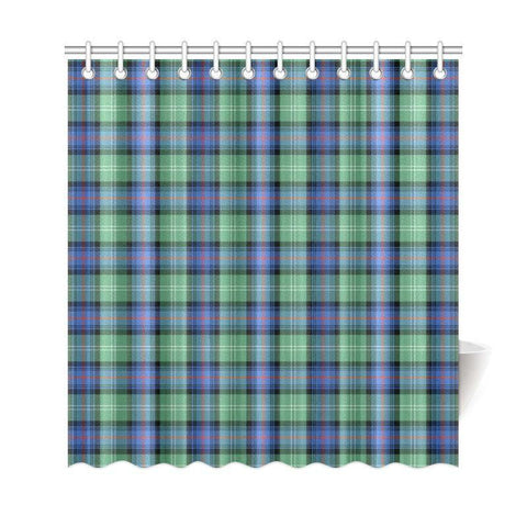 Tartan Shower Curtain - Sutherland Old Ancient | Bathroom Products | Over 500 Tartans