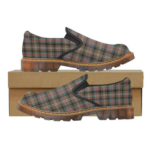 Tartan Martin Loafer - Sutherland Weathered | Men's Casual Loafers | Tartan shoes
