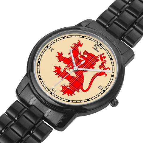 Burnett Modern Tartan Watch Lion Scottish Vesion K7