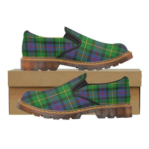 Tartan Martin Loafer - Tait Modern | Men's Casual Loafers | Tartan shoes