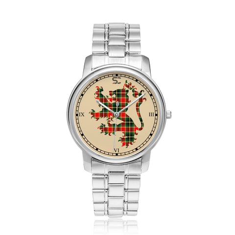 Image of MacLachlan Hunting Modern Tartan Watch Lion Scottish Vesion K7