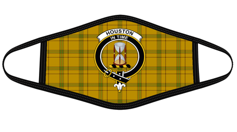 Houston Clan badge Tartan Mask K7