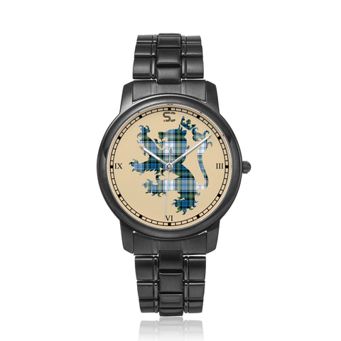 Image of Campbell Dress Ancient  Tartan Watch Lion Scottish Vesion K7