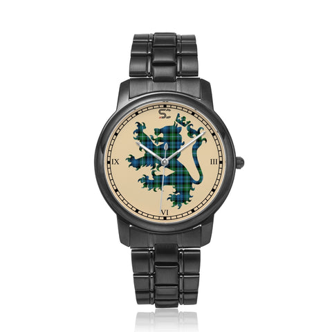 Lyon Clan Tartan Watch Lion Scottish Vesion K7