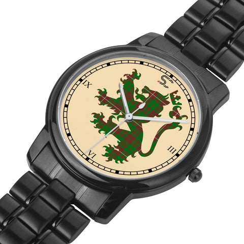Image of MacKinnon Hunting Modern Tartan Watch Lion Scottish Vesion K7