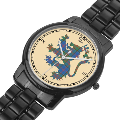 Image of Stewart of Appin Hunting Ancient Tartan Watch Lion Scottish Vesion K7