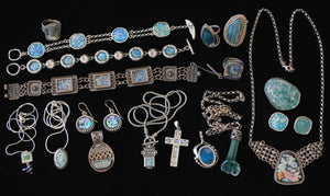 Native American Turquoise Sterling Silver Jewelry