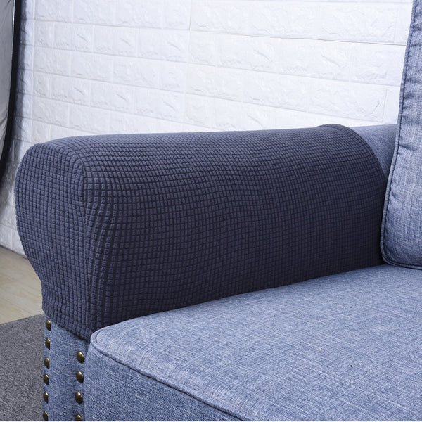 1 Pair Spandex Fabric Removable Arm Stretch - Sofa Couch Chair Protector