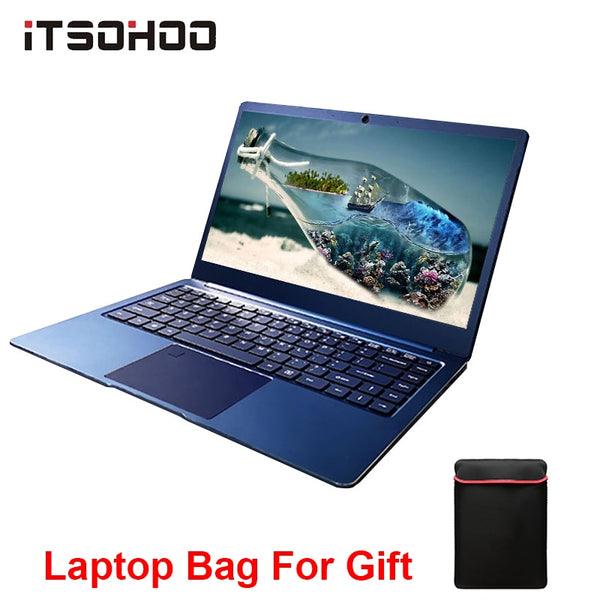14.1inch 8GB gaming laptop Intel Cerelon Apollo N3450 Notebook computer