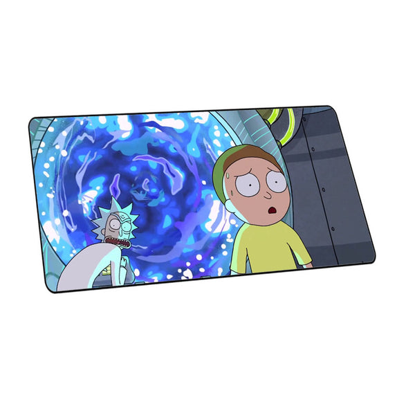 Mairuige Rick and Morty Anime Office Mice Gamer mouse pad