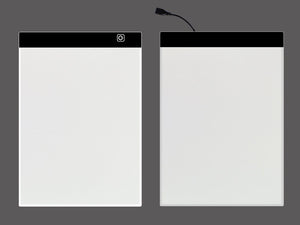 A4 Ultra Thin Portable Copy Table LED through writing desk Light Platform