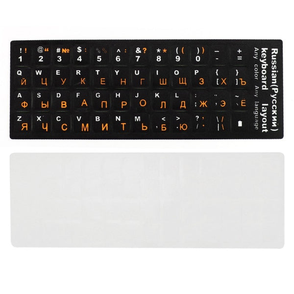 PC or Mac laptop computer standard letter keyboard covers