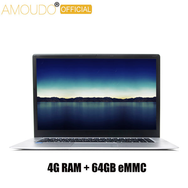 Amoudo IPS Screen Intel Quad Core CPU 15.6 inch  Windows 10 Laptop Notebook Computer