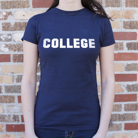 College T-Shirt (Ladies)