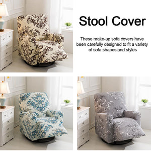 Elastic Recliner Sofa Cover Non-slip Chair Cover Removable Washable Electric Armchair Cover Cushion Cover Furniture Protector