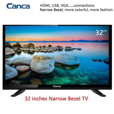 19/22/24/32inch Edge LED LCD Television 16:9 Progressive Scan