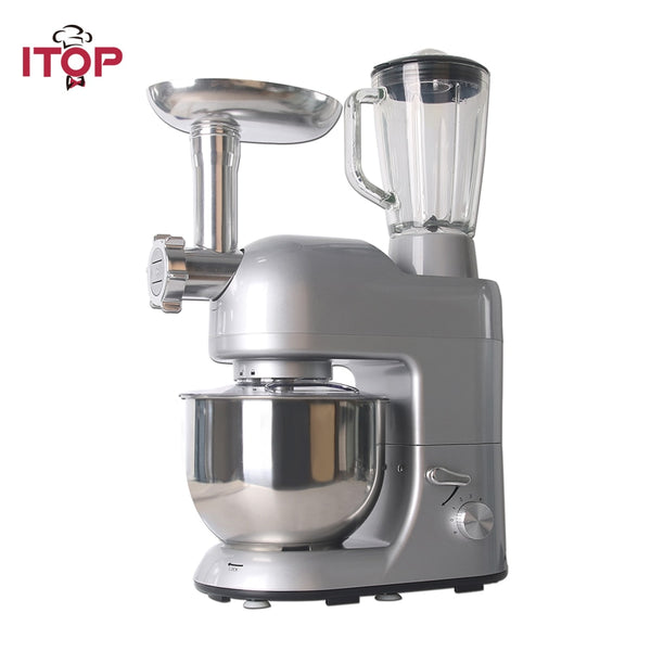 ITOP Multifunction Food Mixers Meat Grinder Vegetable Fruit  Juicer Blender 5.2L Mixing Machine Food Processors