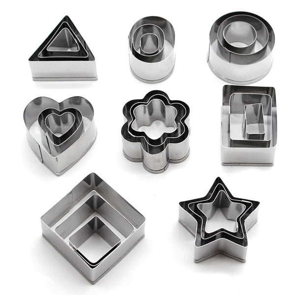 Kitchen Cooking Tools Baking Cake/Bread/Cookie Cutter Set Digital/Heart/Star/Animal/Flower DIY Mold Kitchen Gadgets Accessories