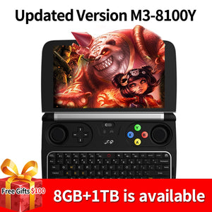 "New GPD Win 2 Intel Core m3-8100Y Quad core 6"" GamePad Tablet Windows 10 8GB RAM 256GB ROM"