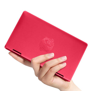 "Newest Red Style Tablet PC one netbook 7""Pocket Computer with Fingerprint Recognition Bluetooth"