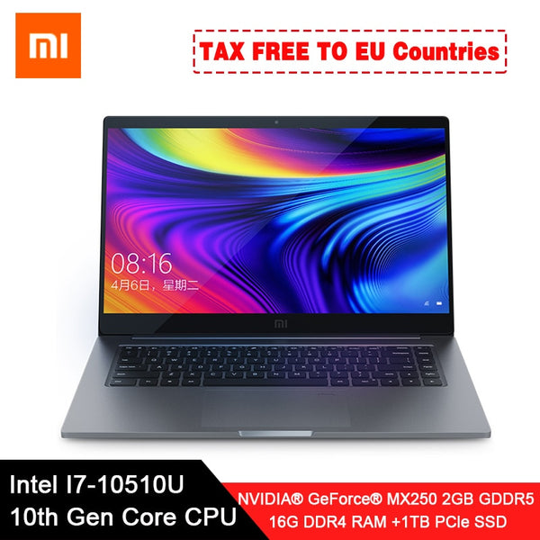 "Original Xiaomi Laptop Pro 15.6"" Enhanced Notebook  i7-10510U"