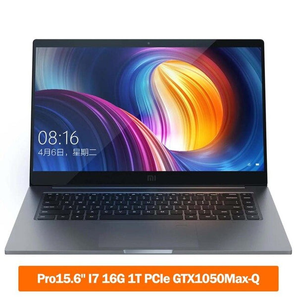 Original Xiaomi Notebook Pro 15.6 inch 4GB GDDR5 Laptop i7-8550U/i5-8250U 1TB SSD