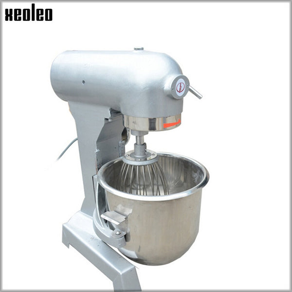 XEOLEO Stainless Steel Food mixer 3-speed Exlectric Food Stand Mixer  Cream Egg Whisk Blender Cake Dough Bread Mixer 220V 500W
