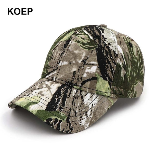 KOEP 2021 New Camo Baseball Cap Fishing Caps