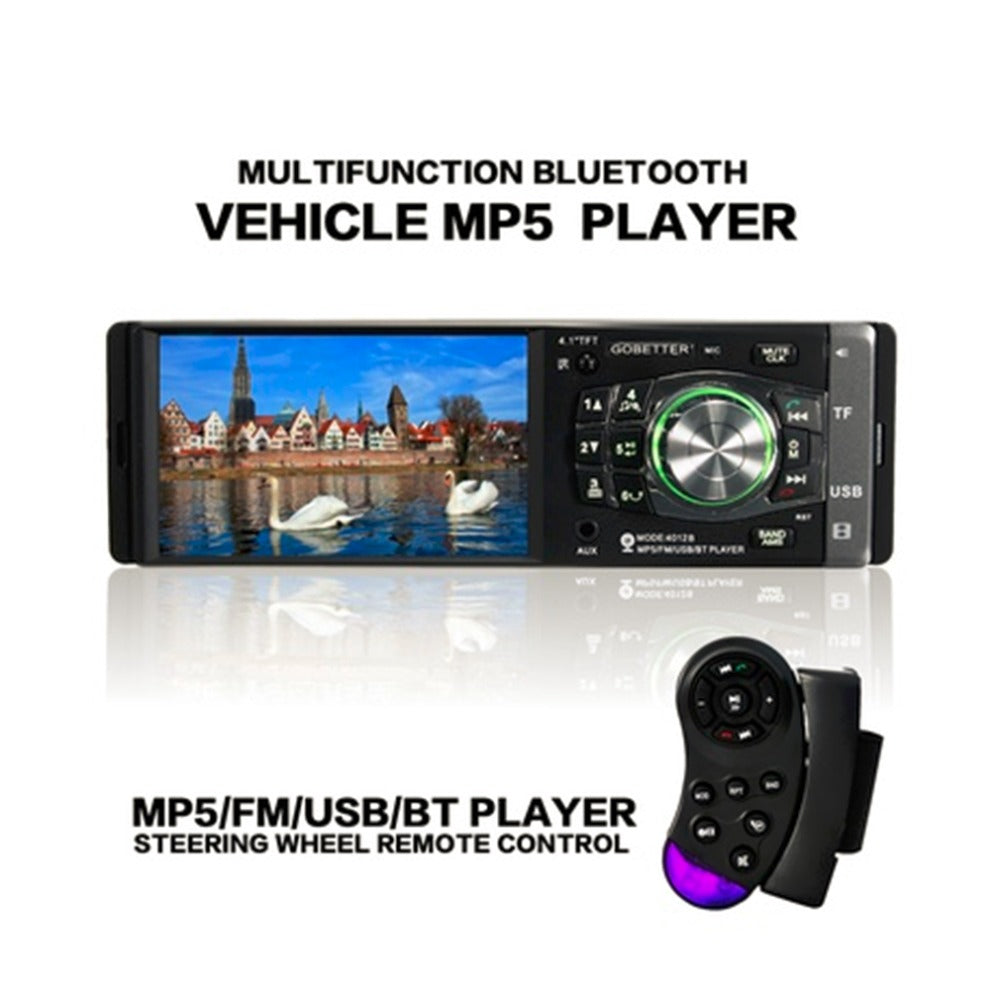 4.1 inch 12V Bluetooth TFT LED Screen Handsfree Car Radio Stereo MP3/4/5 Player