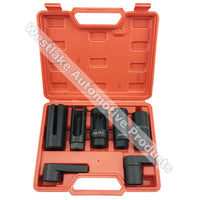 7pcs Oxygen Sensor Socket Set Removal Tool Automotive Shop Hand Tool Set