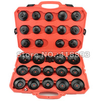 30pcs Cup Type Oil Filter Wrench Removal Tool Set Cup Socket Tool Kit