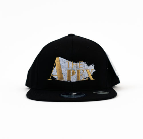 Apex Shadow Black Snapback - JPaceDesigns
