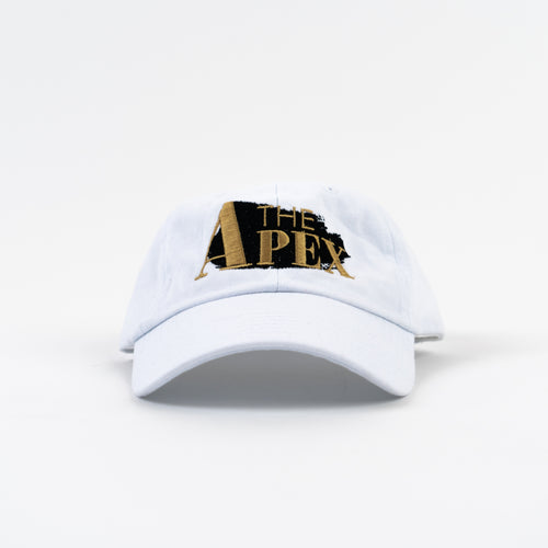 Apex Glacier White Dad Hat - JPaceDesigns