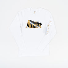 Apex Unisex Glacier White Long Sleeve - JPaceDesigns