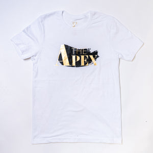 Apex Unisex Glacier White Short Sleeve - JPaceDesigns