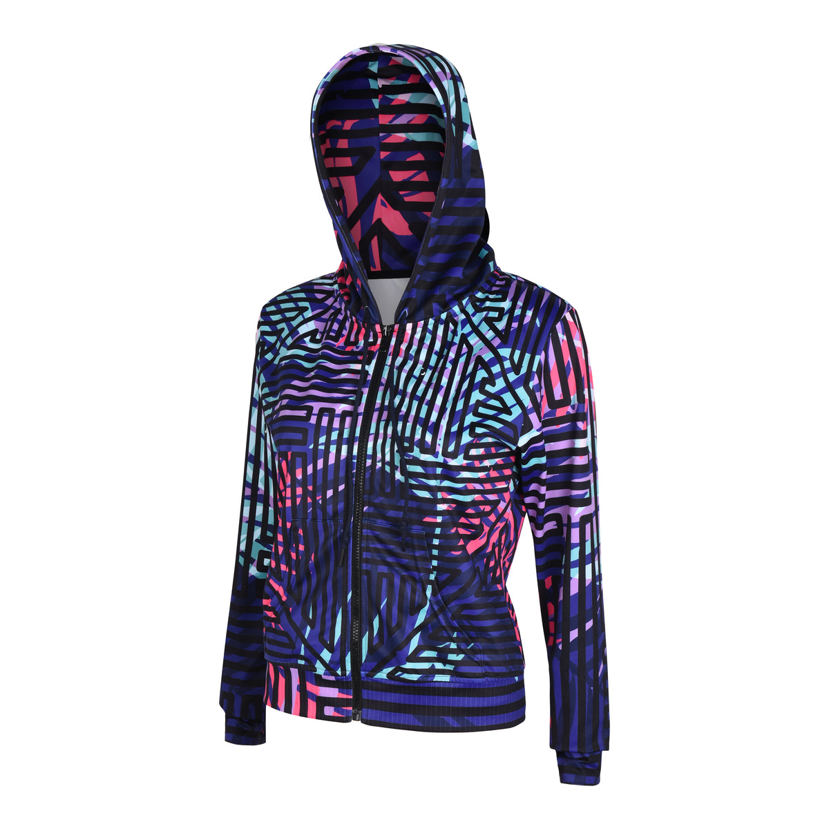 "Women's hoodie ""Steffi"" with handy pockets inside - IAM3F"