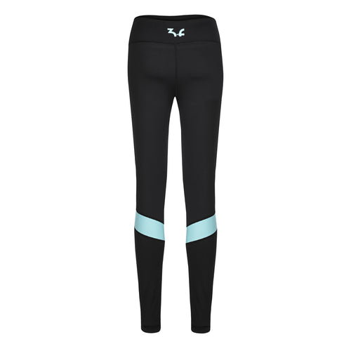 "Your workout legging ""Femke"" with faux leather scrunches - IAM3F"