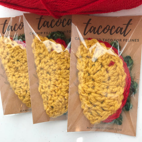 Taco Cat Catnip Toy