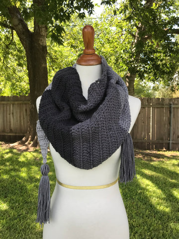 Color Block Kerchief Scarf