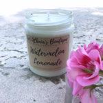 Watermelon Lemonade Soy Candle