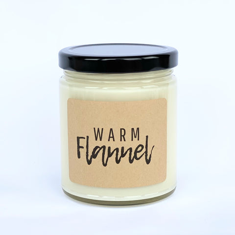 Warm Flannel Soy Candle