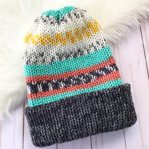 Painted Canyon Beanie