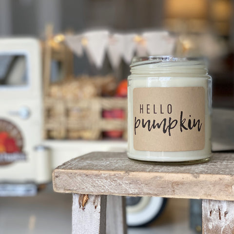 Hello Pumpkin Soy Candle