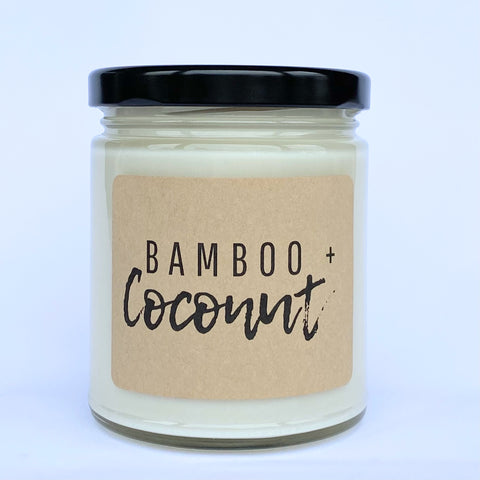 Bamboo + Coconut Soy Candle