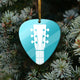 Pick Guitar Mica Ornament blhn12112014
