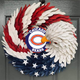 AMERICAN EAGLE WREATH WITH Chicago Bears - HOME DECOR