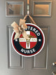 Nurse Door Decoration Wood Sign