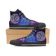 Mandala Galaxy High Top Shoes - blnt01092002