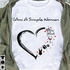 I Am A Simple Woman T-shirt/ Vneck ntant16092004
