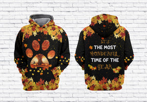 It's the most wonderful time of the year Cat Paw 3D Shirt, Hoodie, Long Sleeve